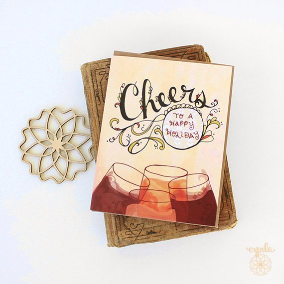 Cheers Holiday Card - Set of 6 - Reservoir