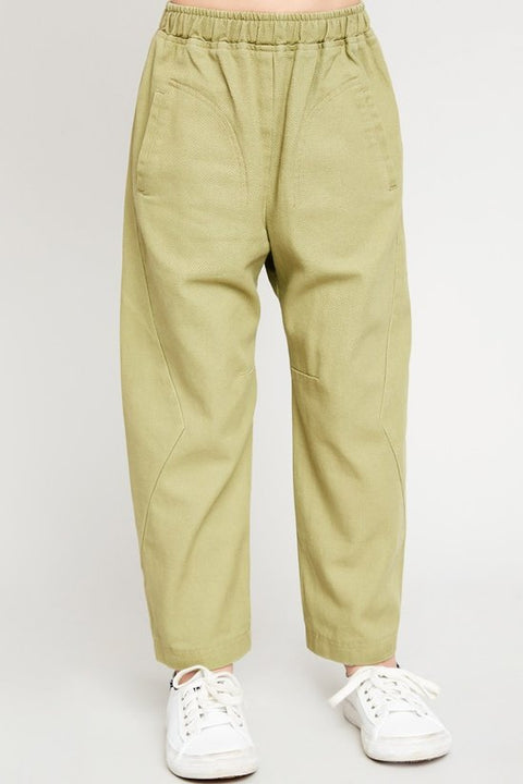 Kids' Straight Leg Carpenter Pants - Sage - Reservoir
