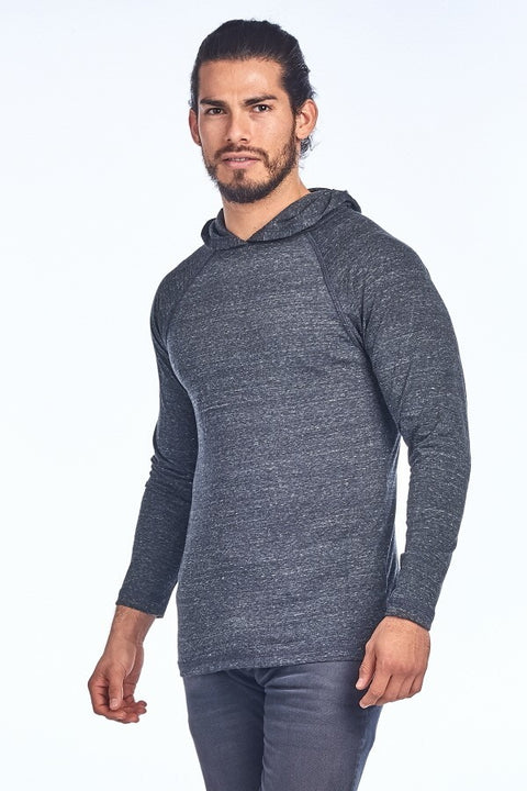 Lightweight Hoodie Men's - Charcoal - Reservoir