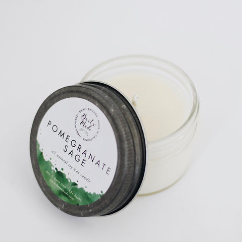 Pomegranate Sage Candle - 4 oz