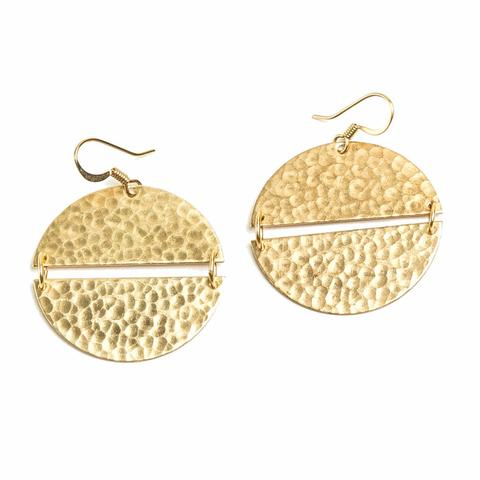 Full Moon Earrings - Reservoir