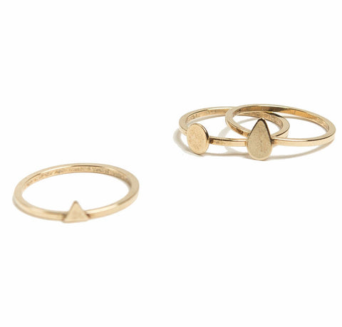 Shape Stacking Ring