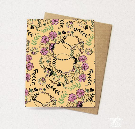 Vine Card - Set of 6