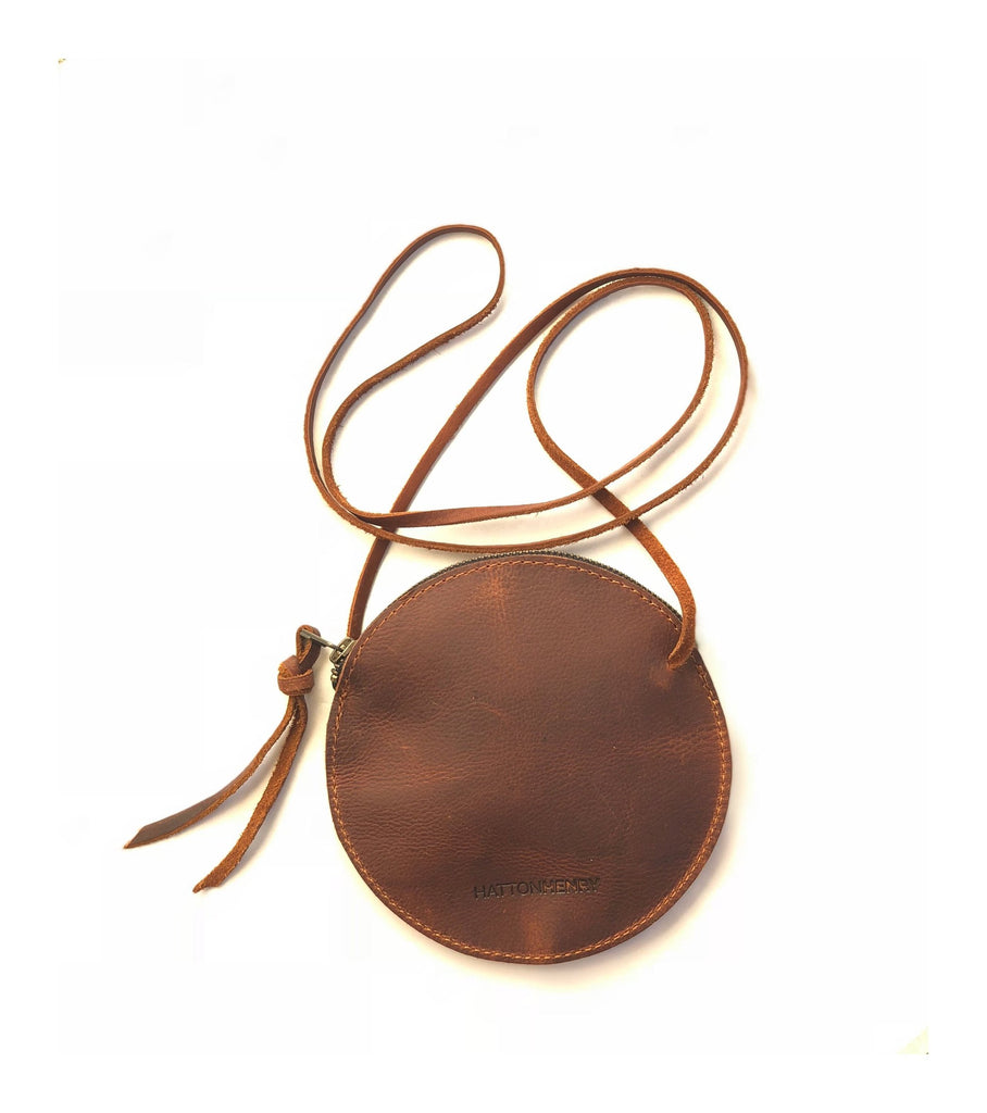 The Circle Crossbody - Brown