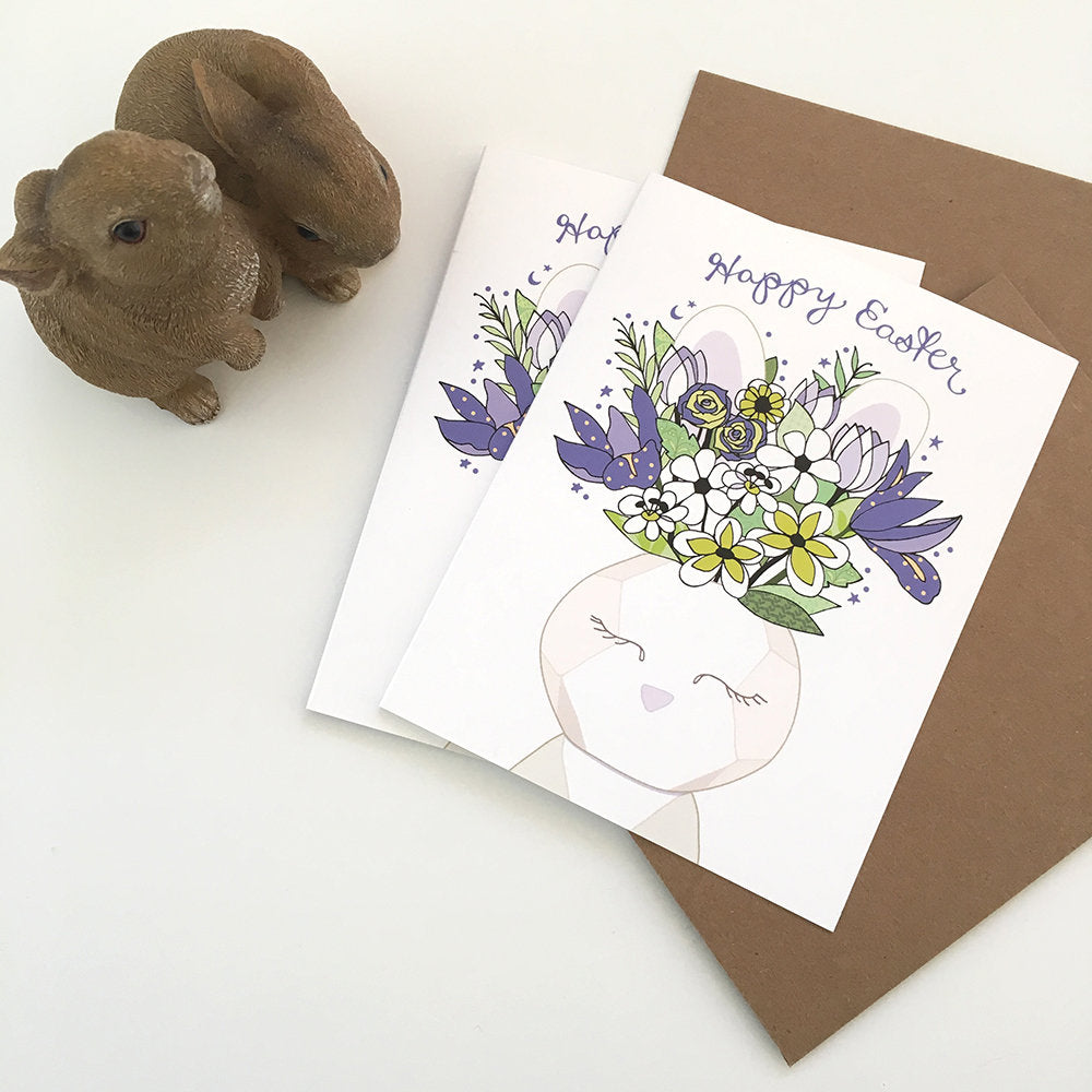 Easter Vase Card - Reservoir