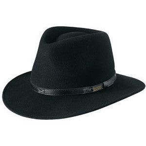 Indy Wool Hat - Black - Reservoir
