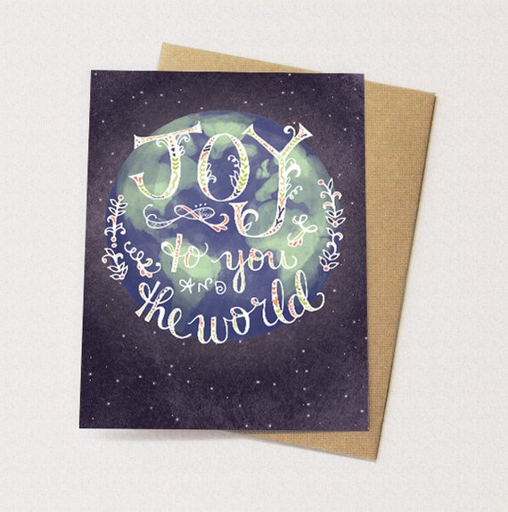 Joy to the World Cards - Set of 6 - Reservoir
