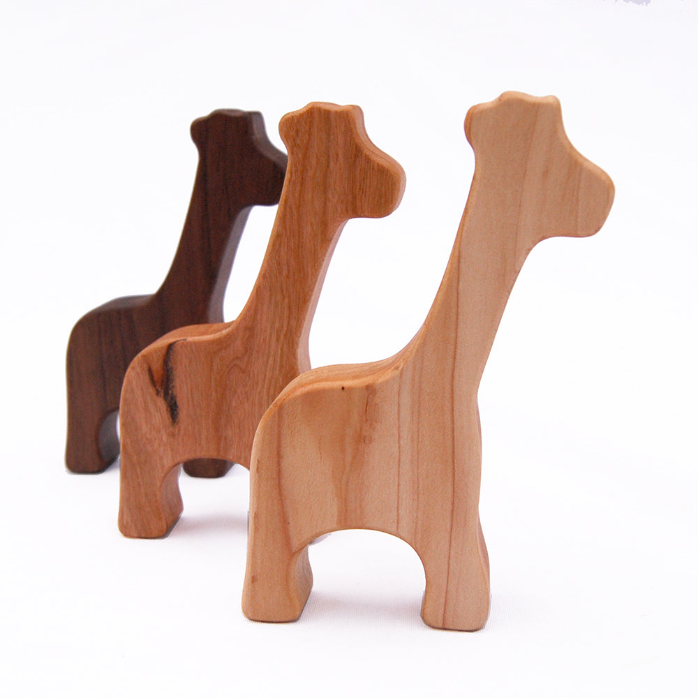 Wooden Giraffe Rattle