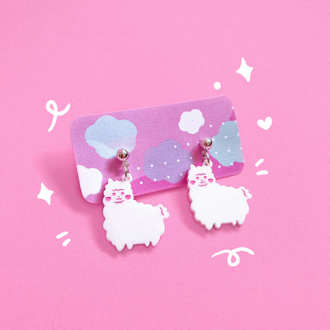 Little Paca Stud Earrings