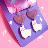 Little Paca Dangle Earrings