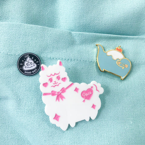 Little Paca Brooch