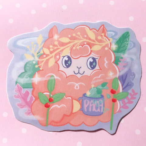 Tea Paca Stickers