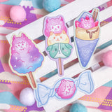 Sweet Tooth Paca Stickers