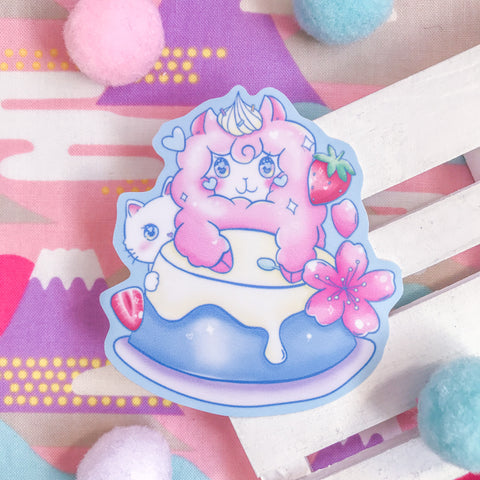 Pudding Paca Stickers