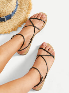 Criss Cross Flats - Truly Yours, Fashion