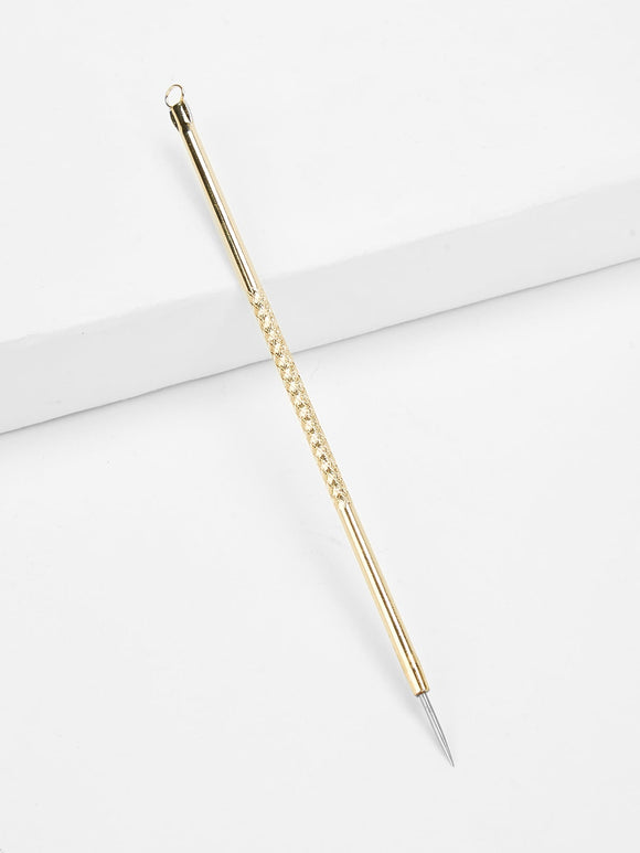 Metallic Acne Needle - Truly Yours, Fashion