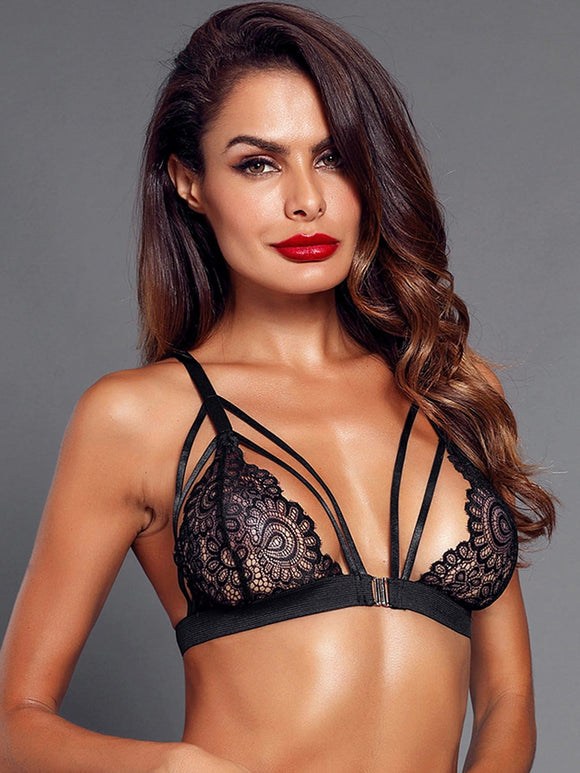 Harness Lace Bra - Truly Yours, Fashion