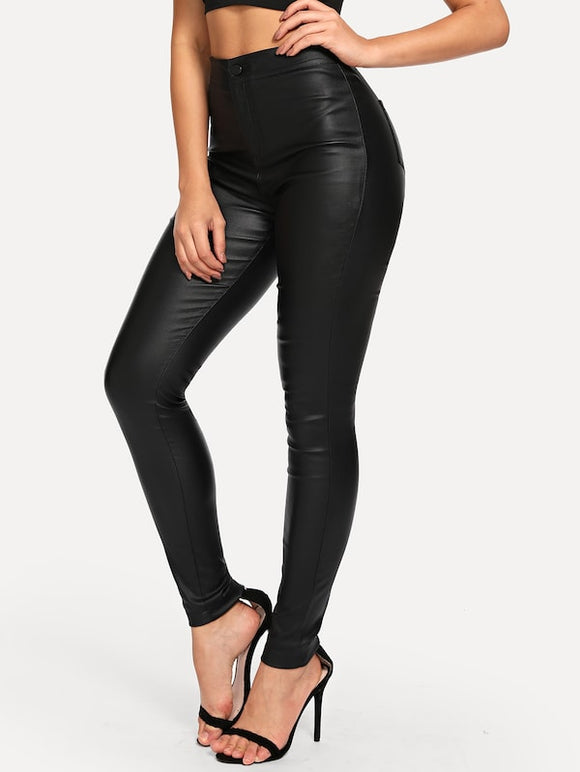 High Waist Skinny Jeans - Truly Yours, Fashion