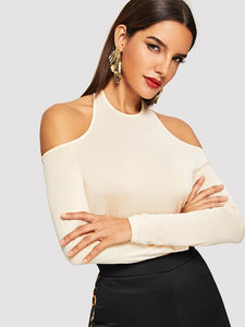 Cold Shoulder Top - Truly Yours, Fashion