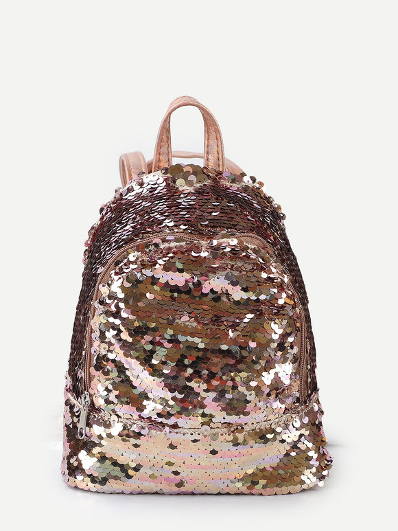 Kids Sequins Decor Backpack