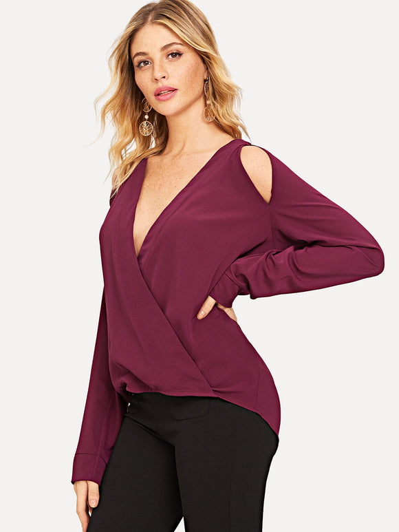 Wrap Cutout Solid Top