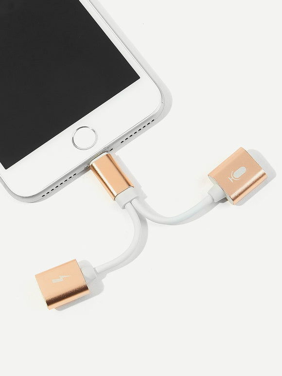 iPhone 2 In 1 USB Converter - Truly Yours, Fashion