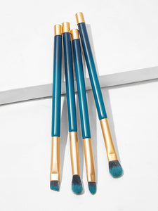 Two Tone Handle Eye Makeup Brush 4pack