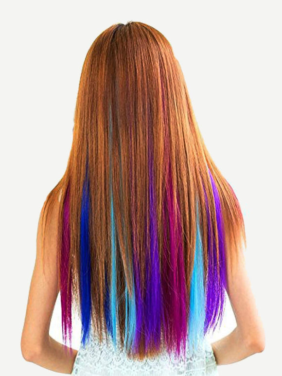 12 Color Clip In Hair Extension - Truly Yours, Fashion