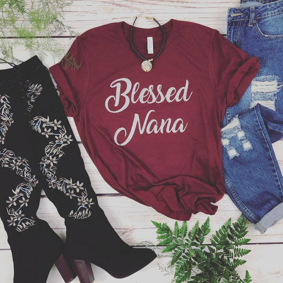 Blessed Nana Tee - Truly Yours, Fashion