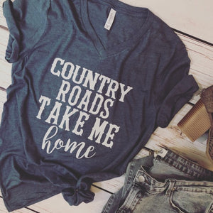 Country Roads Tee - Truly Yours, Fashion