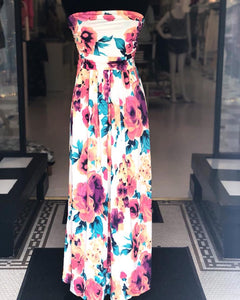 """By My Side"" Floral Maxi Dress - Truly Yours, Fashion"