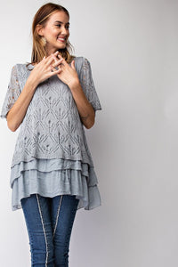 "The ""Miranda"" Lace Top - Truly Yours, Fashion"