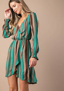 "The ""Jasmine"" Striped Dress - Truly Yours, Fashion"