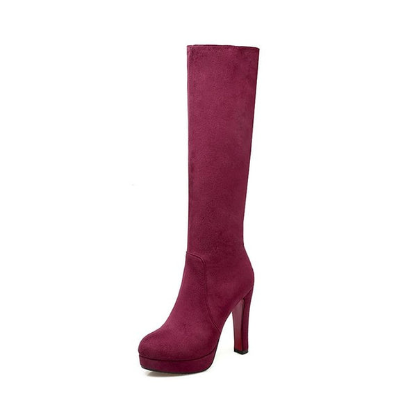 Knee High Boots - Truly Yours, Fashion