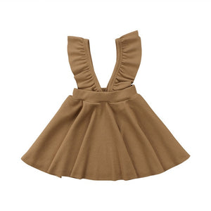 Pleated Style Strap Dress