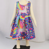 Colorful Pattern Dress - Truly Yours, Fashion