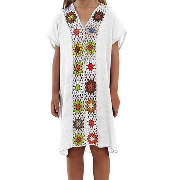 Crochet Beach Tunic - Truly Yours, Fashion