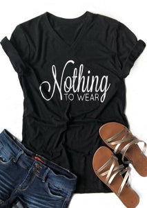 Nothing To Wear Tee - Truly Yours, Fashion