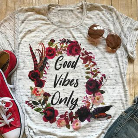 Good Vibes Only Tee - Truly Yours, Fashion