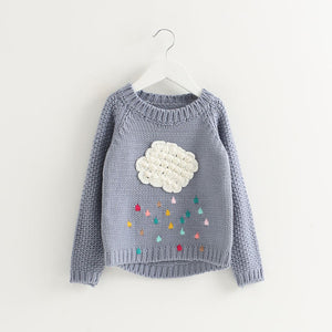 Cloud Rainbow Sweater - Truly Yours, Fashion