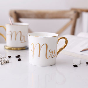 Mr and Mrs Coffee Mug
