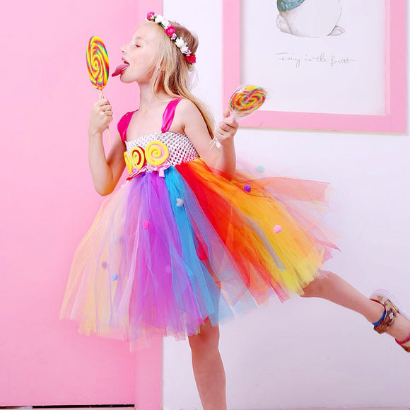 Candy Lollipop Dress - Truly Yours, Fashion