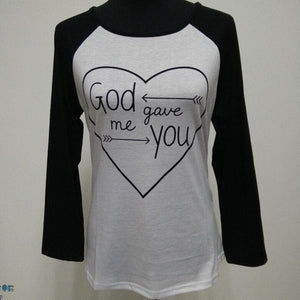 God Gave Me You Mommy and Me Top - Truly Yours, Fashion