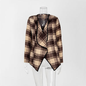 "The ""Falyn"" Plaid Jacket - Truly Yours, Fashion"