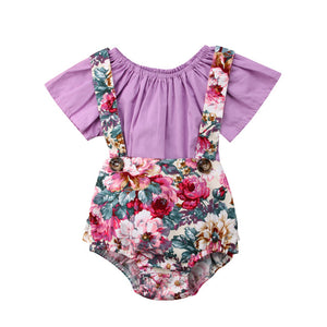 Floral Romper/Tee Set - Truly Yours, Fashion