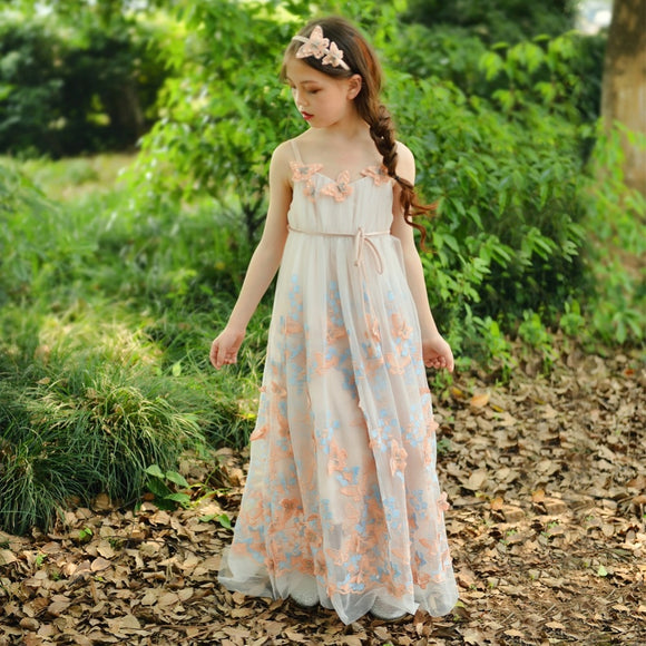 Fancy Butterfly Princess Formal Dress - Truly Yours, Fashion