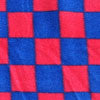 Double Sided Blue & Red Check Honcho