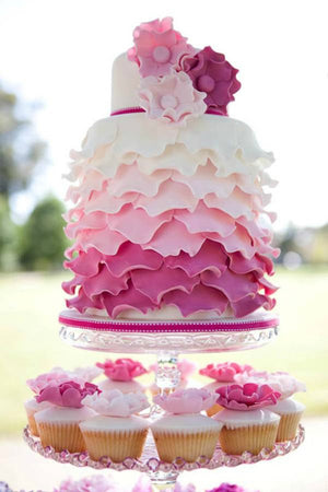 wedding cake and cupcakes blog