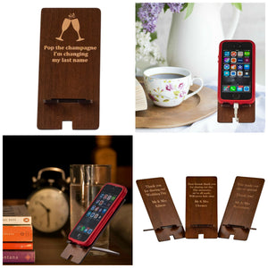 Wedding Favours - Phone Stands