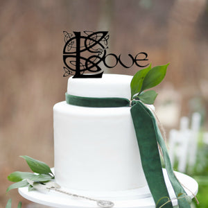 Celtic Cake Toppers